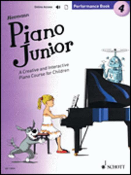 Piano Junior: Performance Book 4 Vol. 4