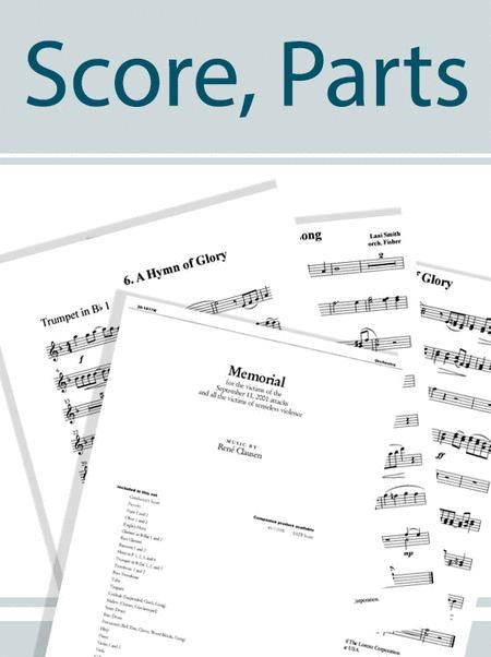 Let Us Rejoice, Christ is Born! - Orchestral Score and Parts