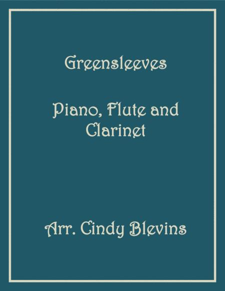 Greensleeves, for Piano, Flute and Clarinet