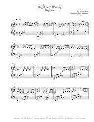 Right Here Waiting - Richard Marx - Harp solo