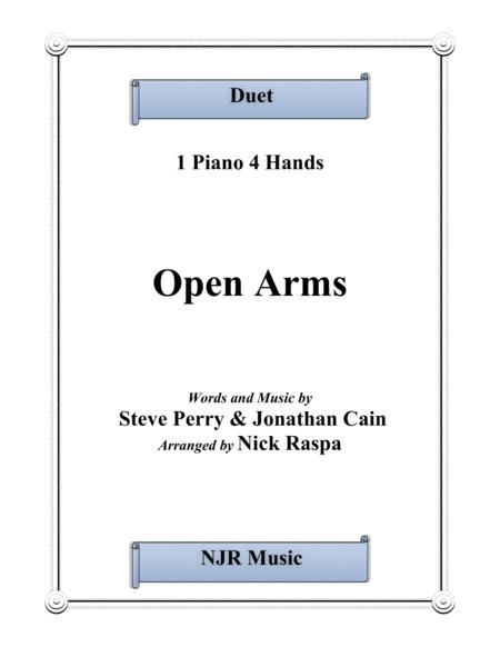 Open Arms (1 piano 4 hands)