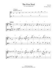 The First Noel - for 2-octave handbell choir