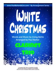 White Christmas (Clarinet Trio)