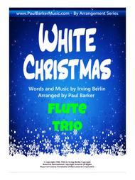 White Christmas (Flute Trio)