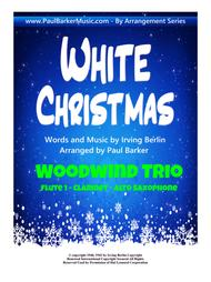 White Christmas (Woodwind Trio)