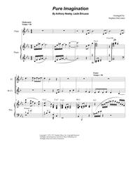 Pure Imagination (Duet for Flute and Bb-Clarinet)