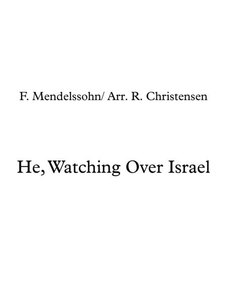 He, Watching Over Israel- String Orchestra