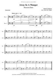 Away In A Manger (1st. version)