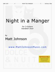 Night in a Manger—3 octave handbell choirs