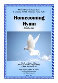 Download Homecoming Hymn - Orchestra With Solo Voice Score And Parts