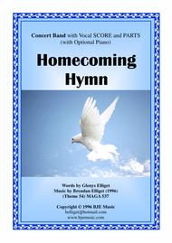 Download Homecoming Hymn - Concert Band (with Vocal) Score And Parts