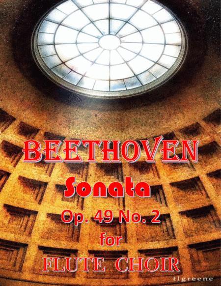 Beethoven: Sonata Op. 49 No. 2 for Flute Choir