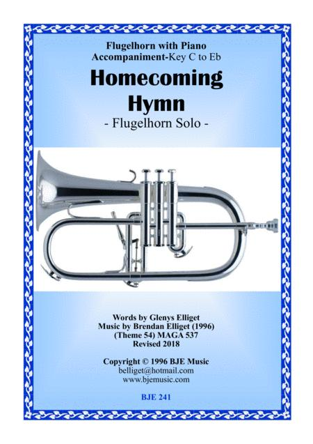 Preview Homecoming Hymn - Flugelhorn Solo With Piano Score And Parts
