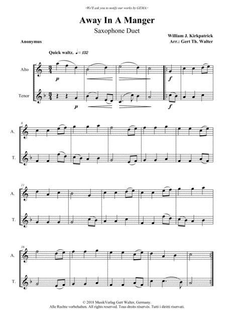 Away In A Manger (2nd. version)