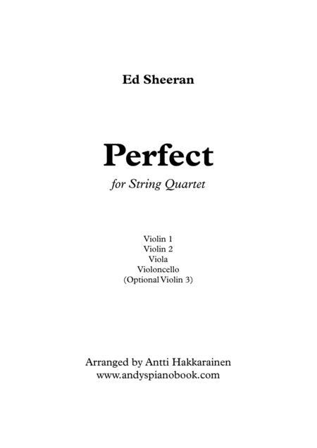 Perfect - String Quartet
