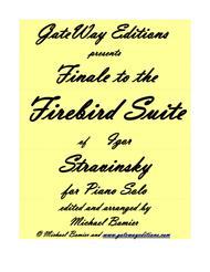 Firebird Finale for Piano Solo