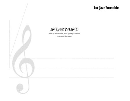Stardust (Trumpet feature for Small Jazz Ensemble 5-3-3)