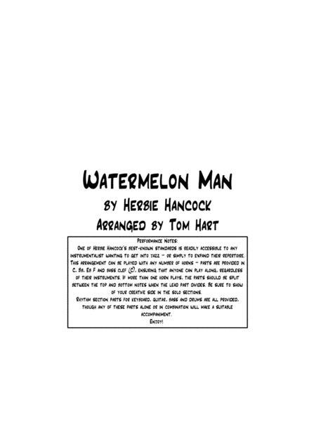 Watermelon Man - Jazz Combo