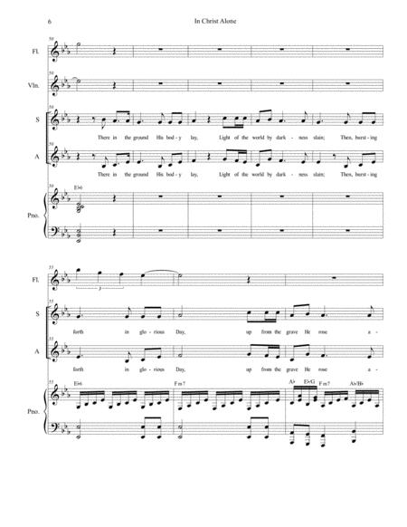 Preview In Christ Alone (for 2-part Choir - (SA) (H0.382589-52553) - Sheet Music Plus