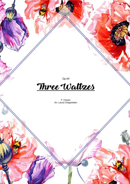 Three Waltzes (Op.64) for String Quartet