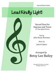 Lead Kindly Light Duet for Soprano and Tenor with Piano Accompaniment