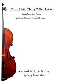 Crazy Little Thing Called Love - Queen - String Quartet