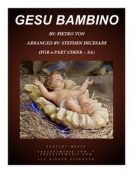 Gesu Bambino (for 2-part choir - (SA)