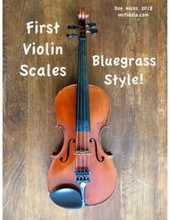 First Violin Scales  -  Bluegrass Style