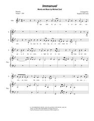 Immanuel (for 2-part choir - (SA)