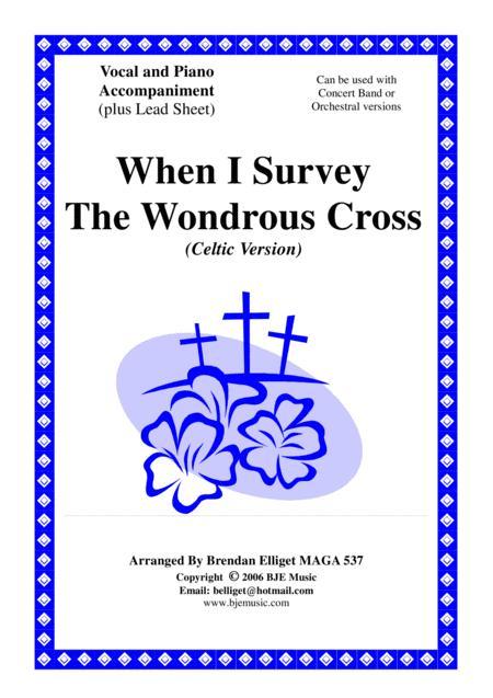 When I Survey The Wondrous Cross (Celtic Version) - Piano and Vocal PDF