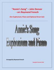 Annie's Song - John Denver (Euphonium; Piano and optional Drum Set)