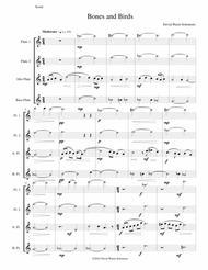 Bones and Birds for flute quartet