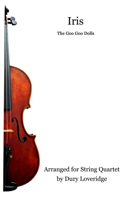 Iris - Goo Goo Dolls - String Quartet - City of Angels