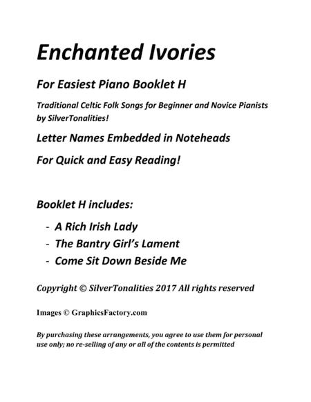 Preview Enchanted Ivories For Easiest Piano Booklet H By