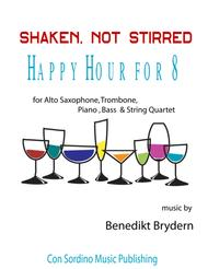 Shaken, Not Stirred - Happy Hour for 8