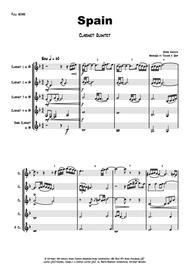 Spain - Chick Corea - Clarinet Quintet