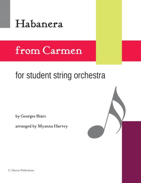 Habanera from Carmen for String Orchestra