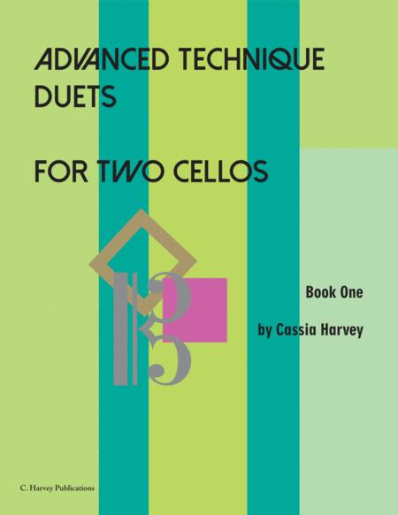 Advanced Technique Duets for Two Cellos, Book One