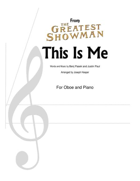 This Is Me (from The Greatest Showman) (Oboe and Piano)