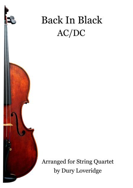 Back In Black - ACDC - String Quartet