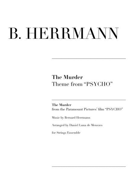 The Murder (Psycho Theme)