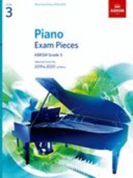 Piano Exam Pieces 2019 & 2020, ABRSM Grade 3