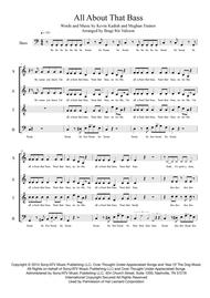 All About That Bass - SATB a capella