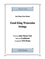 Good King Wenceslas Swings 1 piano 4 hands (early intermediate)
