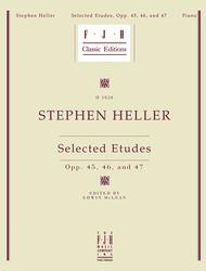 Selected Etudes, Opp. 45, 46, and 47