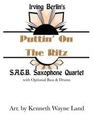 Puttin' On The Ritz (Saxophone Quartet)