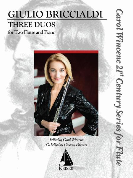 Three Duos for Two Flutes and Piano