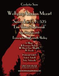 Mozart - Serenade in G, 'Eine kleine Nachtmusik' (for String Quartet)