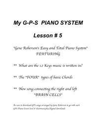 My GP PIANO SYSTEM Lesson #5