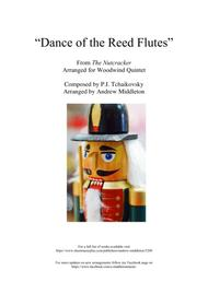Dance of the Reed Flutes arranged for Woodwind Quintet